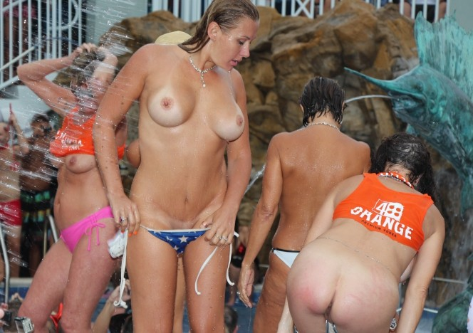 Nude fantasy fest pool parties