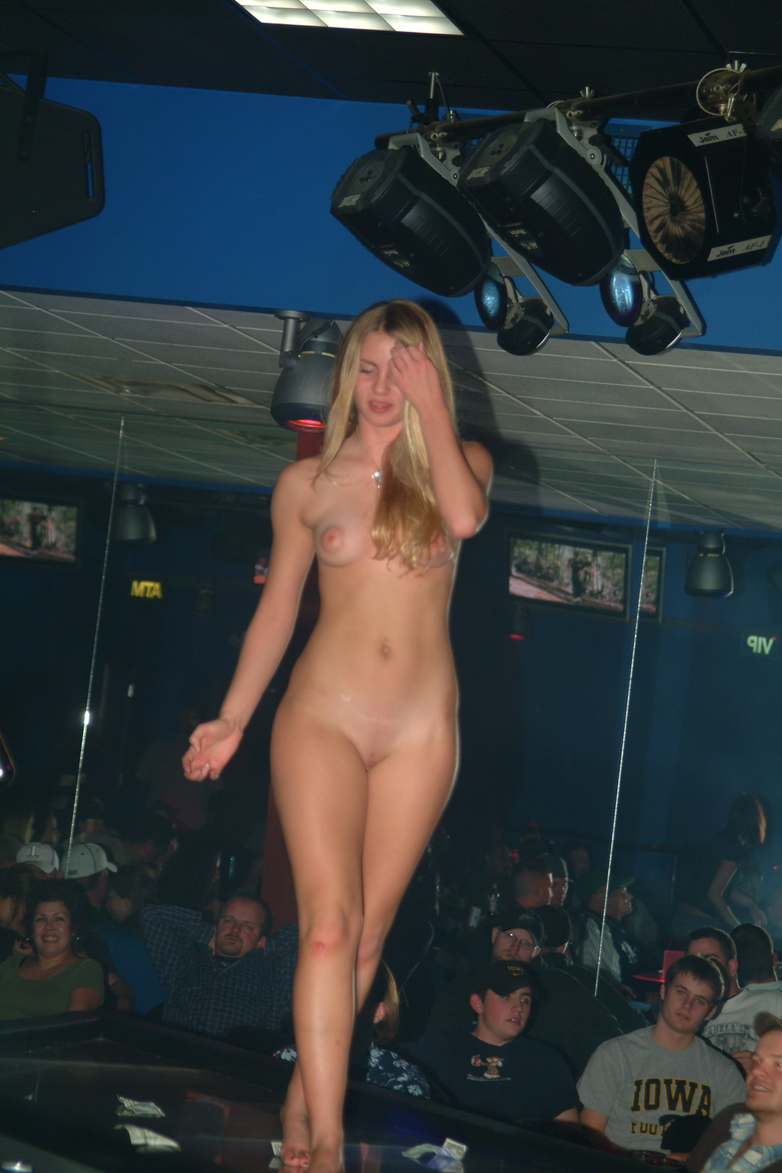 naked amateur stripper contest